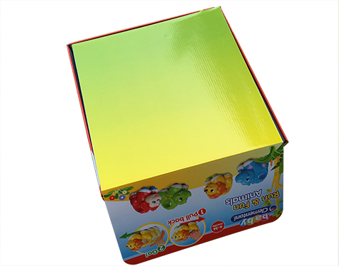 Toy packaging color printing