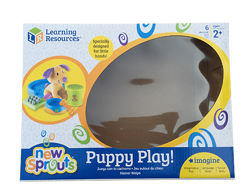 Puppy play color box printing